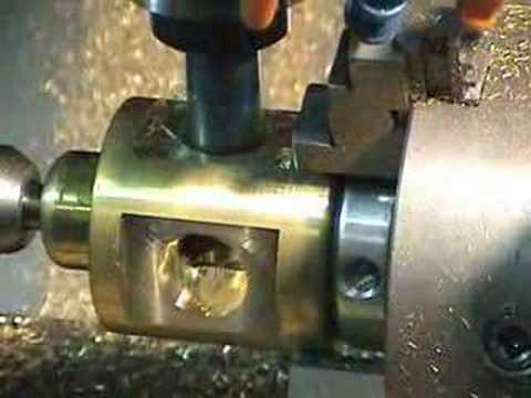 Fadal CNC Mill Machining Brass multi axis