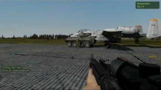 How to steal a plane in Arma 2?