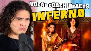 Download lagu Vocal Coach Reacts to Bella Poarch & Sub Urban - INFERNO