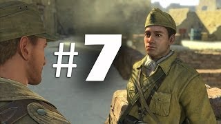 Sniper Elite 3 Part 7 - Testicle Break Dance! - Gameplay Walkthrough PS4