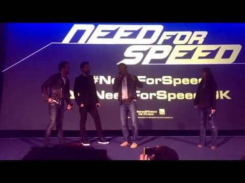 Aaron Paul, Dominic Cooper And Scott Waugh Introduce Need For Speed