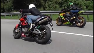 Honda CBR600RR vs. Zx10R vs. Shiver