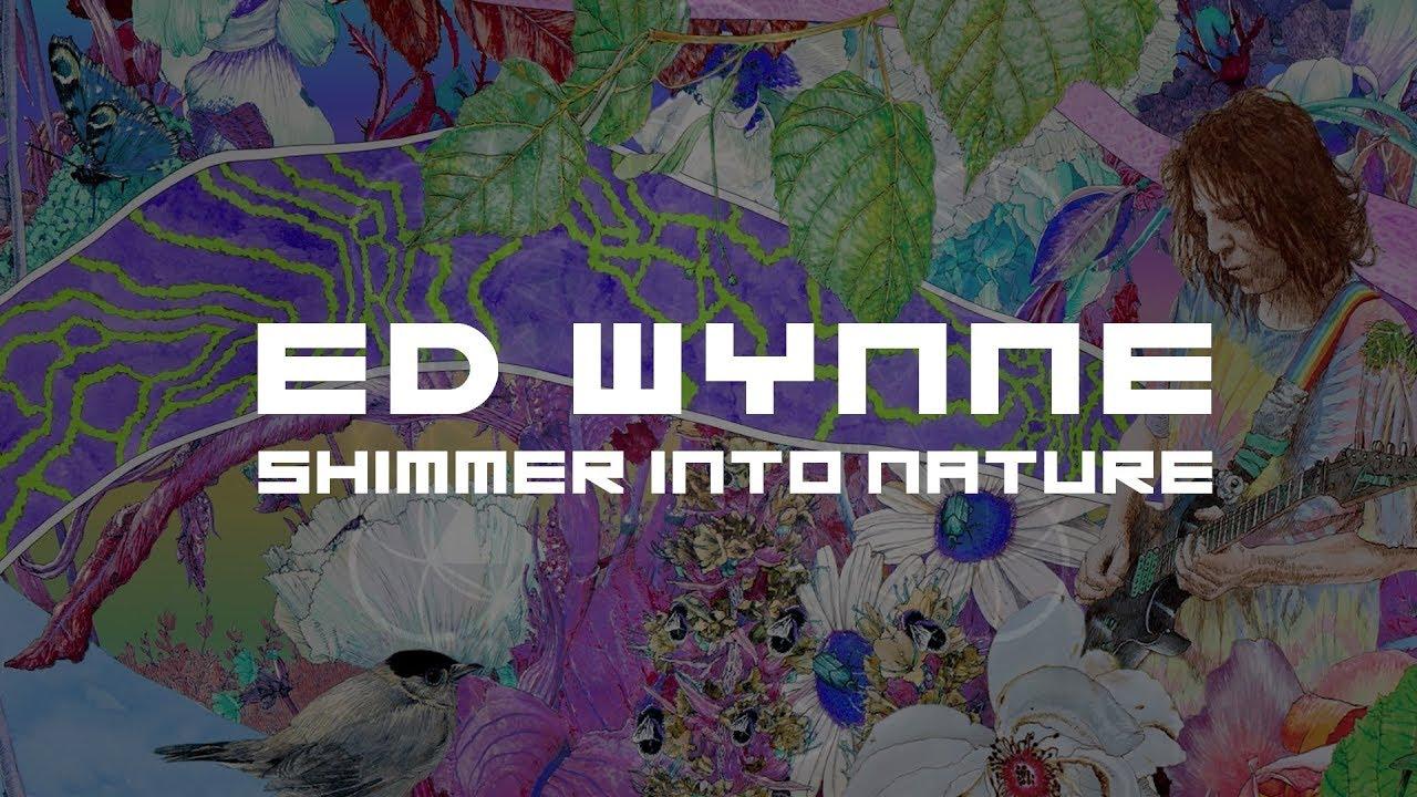 "Ed Wynne (Ozric Tentacles) - ""Shim""のMVを公開 新譜「Shimmer into Nature」2019年1月25日発売予定 thm Music info Clip"
