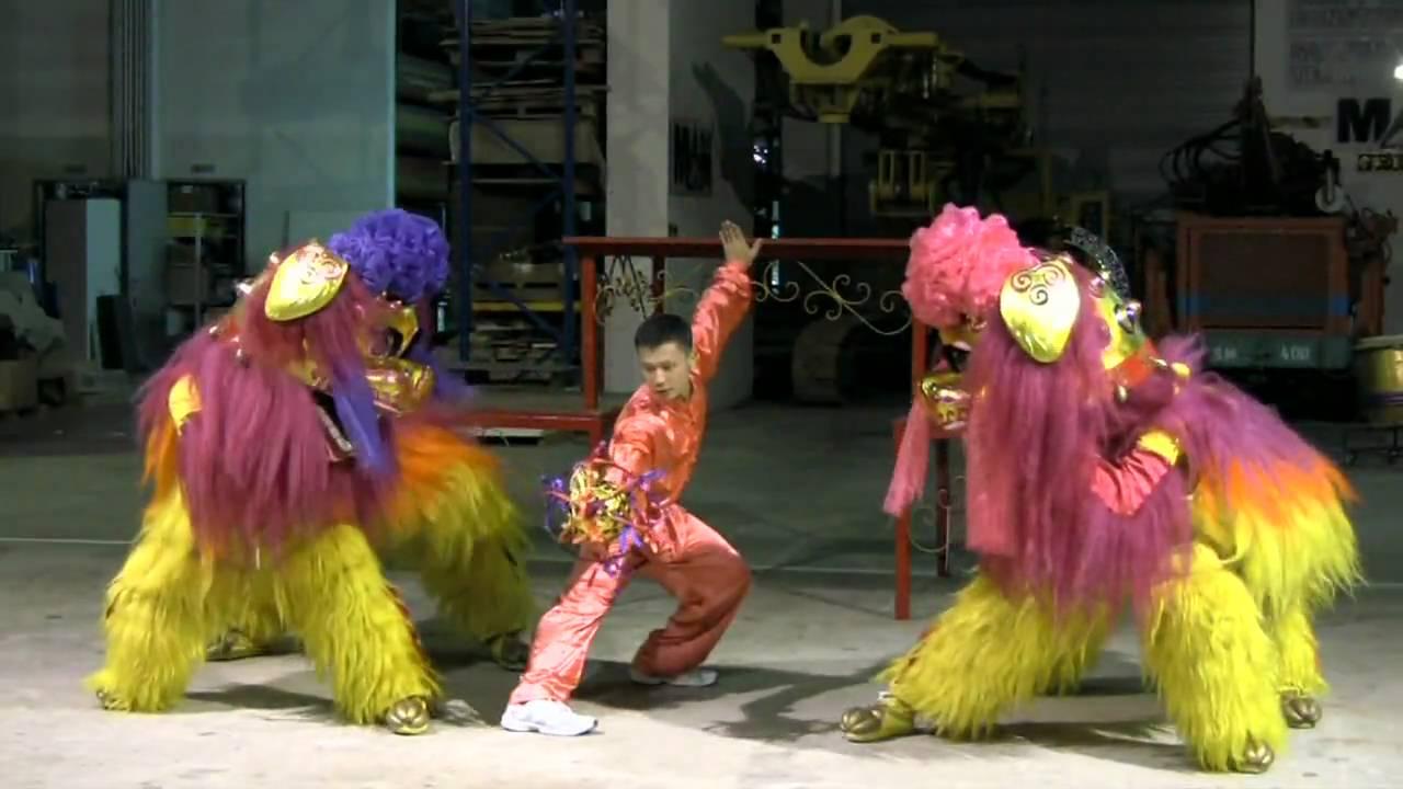 Lion Dance Singapore - Wen Yang - YouTube