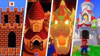Evolution of Castles in Super Mario Games (1985 - 2017)