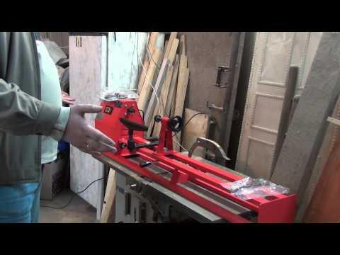 Токарный станок по дереву UTOOL UWL-1000L. Обзор. Lathe for wood. Review.