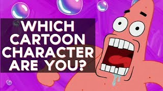 Which Cartoon Character Are You?  Fun Tests