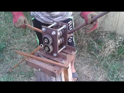 Станок для ковки из профильной трубы своими руками 80