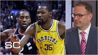 Kawhi and KD may team up, most likely with Clippers or Knicks - Woj | SportsCenter
