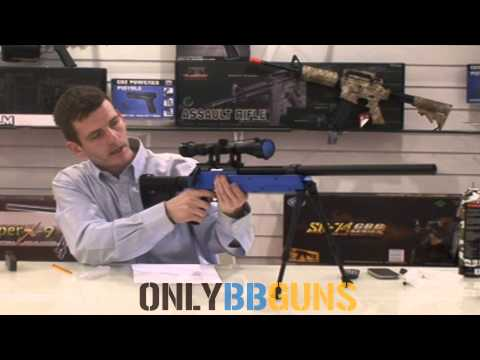Warrior Sniper Rifle (With Scope and Bipod) MB06 Reviewed by onlyBBguns