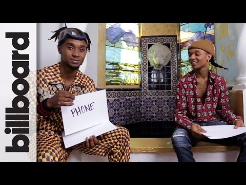"""Rae Sremmurd's Swae Lee & """"Slim Jimmi Play 'How Well Do You Know Your Brother?'   Billboard"""