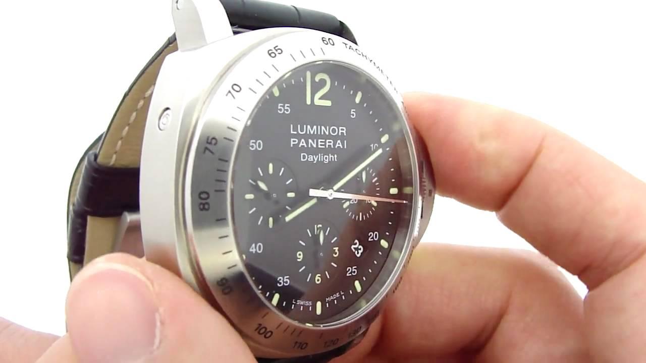 часы luminor panerai инструкция сложный