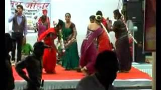 Chhattisgarhi Folk Dance Suva Naach  on Sabji Mandi udghatan Tifra Bilaspur