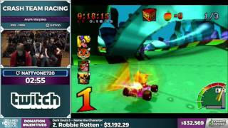 Crash Team Racing by nattyone720 in 52:19 - Awesome Games Done Quick 2017 - Part 149