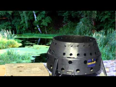 Cooking with the Volcano Collapsible Stove