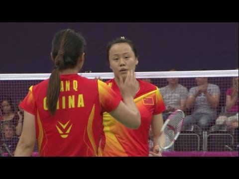 China V Japan - Women's Doubles Badminton Group D | London 2012 Olympics video
