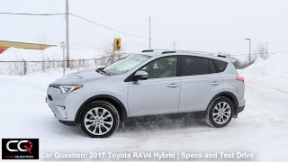 2017 Toyota Rav4 Hybrid  | Specifications and Test Drive | The MOST complete review: Part 3/8