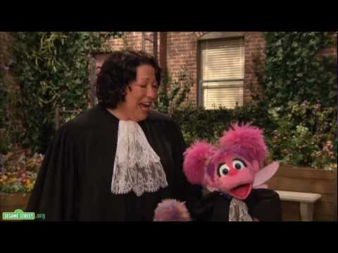 Sesame Street: Sonia Sotomayor and Abby - Career