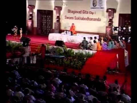 Swami Sukhabodhananda - Gita Talks Hyd Nov 2011 video