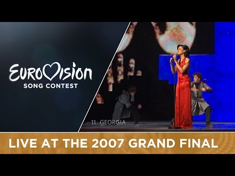 Sopho - Visionary Dream (Georgia) Live 2007 Eurovision Song Contest