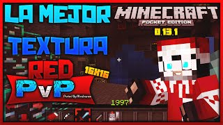 La Mejor Textura Para UHC y PvP Minecraft PE 0.13.1 (POCKET EDITION) - Red PvP - Epic Texture Pack