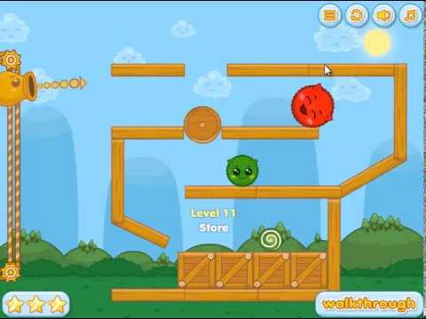 Red'n'Green 2 Walkthrough