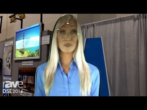 DSE 2014: Casio Presents Its AVA Airport Virtual Assistant Presenter