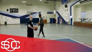 My Wish: Ethan shoots hoops with Jimmy Butler | SportsCenter | ESPN