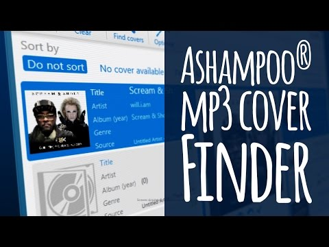Ashampoo® MP3 Cover Finder