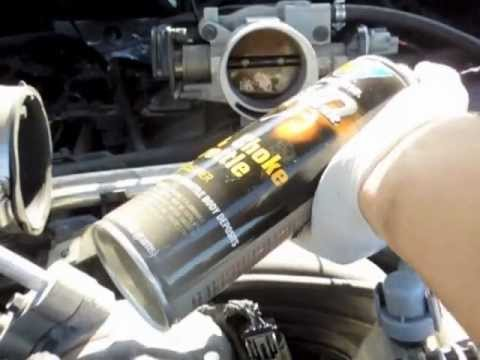 2003 Dodge Dakota Throttle Body Cleaning V8 4.7L