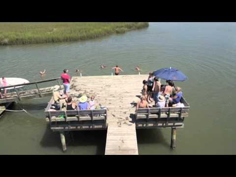Yonder Blue Films Returns To Dewees Island, Sc video