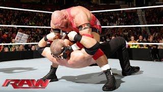 Ryback & The Usos vs. Kane, The Miz & Damien Mizdow: Raw, December 8, 2014