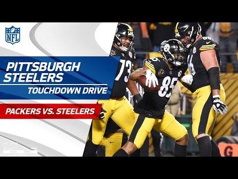 Pittsburgh Starts Quick w/ Big TD Drive vs. Green Bay! | Packers vs. Steelers | NFL Wk 12 Highlights