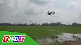 Thử nghiệm máy bay phun thuốc bảo vệ thực vật   Thế giới số   THDT