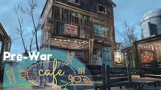 Let's Build a Restaurant / Fallout 4 Settlement Build