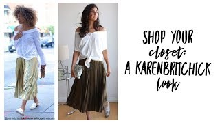 Shop Your Closet: Karenbritchick Style | Curated Capsule Closet | Fashion Envy WITHOUT SHOPPING