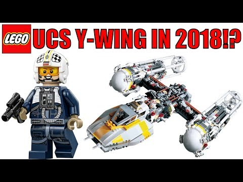 Watching video LEGO Star Wars UCS Y-Wing Coming In 2018!?   LEGO ...