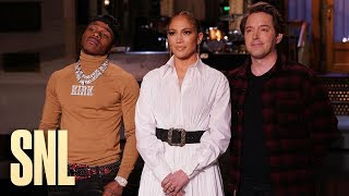 Beck Bennett Asks Jennifer Lopez and DaBaby for Music Advice - SNL