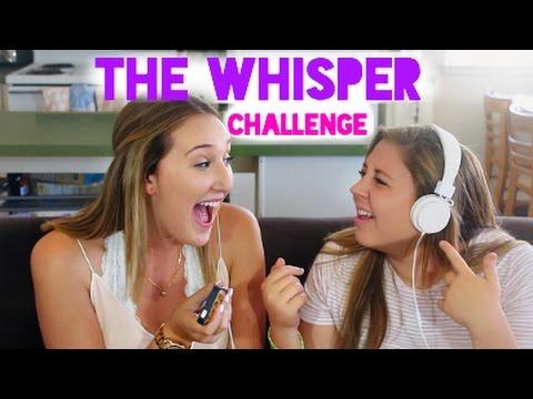 THE WHISPER CHALLENGE ft. Lovenector13!