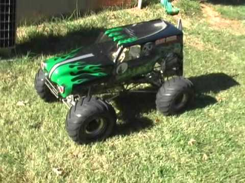 1/4 Scale Grave Digger Part 19 with Conley V8