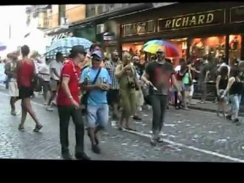 Napoli Made Pride 2012 2^ parte. intervista a Vladimir Luxuria Ornella Muti Maria Mazza