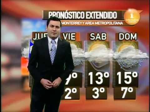 6/marzo/2015 Pronóstico del tiempo Monterrey Clima TVNL