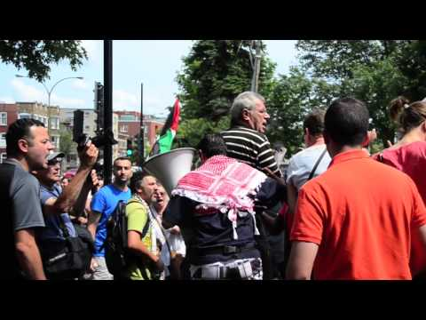 Anti-Israel protest in Montreal turns violent