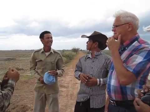 Irrigation project Spien/De Brug in Kompong Cham Cambodja