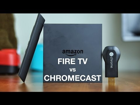 Amazon Fire TV vs Chromecast
