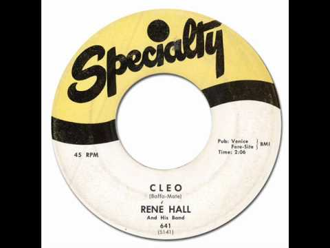 CLEO - Rene Hall [Specialty #641] 1958 * Exotica R&B
