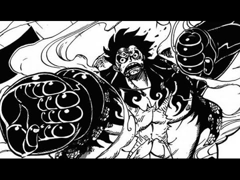 One Piece 784 Manga Chapter Review Reaction ワンピース GEAR FOURTH LUFFY = GOAT
