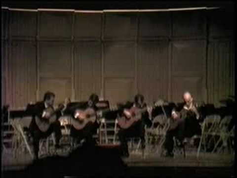 The Romeros - Brandenburg Concerto No. 3 (Allegro) - JS Bach
