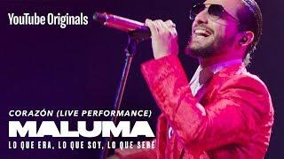 Download lagu Corazón (Live Performance) | MALUMA: Lo Que Era, Lo Que Soy, Lo Que Seré