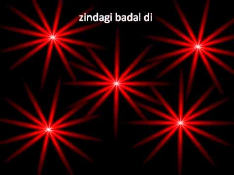 Tune Zindagi Mein Aake with lyrics...by upashna